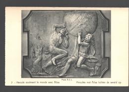 Hercules Met Atlas Lichten De Wereld Op - Uitgave Kasteel Van Beaulieu, Machelen - Sculptures