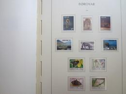 Faroe Islands 1993 ,  Facit 246 - 255  (Complete Sets) (Box 1 - 27) - Féroé (Iles)