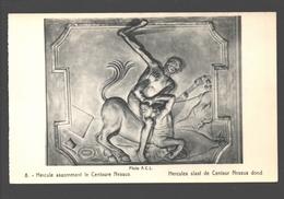 Hercules Slaat De Centaur Nessus Dood - Uitgave Kasteel Van Beaulieu, Machelen - Sculptures
