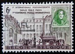 1963 Belgique Yt 1250 . Postconference Paris - Belgique