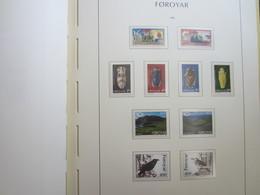 Faroe Islands 1995 ,  Facit 272 - 279 + 283 - 284  (Complete Sets) (Box 1 - 30) - Féroé (Iles)