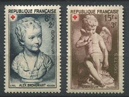 France 1950 - N° 876 & 877 - Au Profit De La Croix Rouge - Neufs **/* - France