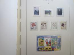 Faroe Islands 1996 ,  Facit 291 - 297 + Block 8  (Complete Sets) (Box 1 - 32) - Féroé (Iles)
