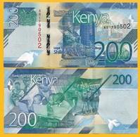 Kenya 200 Shillings P-NEW 2019 UNC Banknote - Kenia