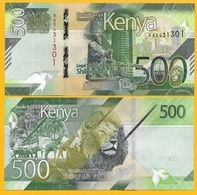 Kenya 500 Shillings P-NEW 2019 UNC Banknote - Kenia