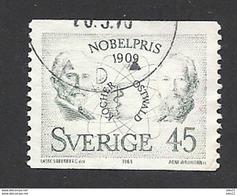 Schweden, 1969, Michel-Nr. 662, Gestempelt - Usati