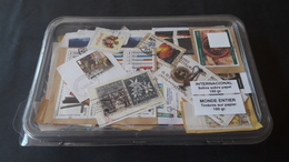 WORLDWIDE - KILOWARE 150 G. Sellos Usados, Con Papel / Used Stamps, On Paper / Timbres Oblitérés, Sur Papier - Sellos