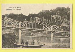 * Nameche (Namur - La Wallonie) * (Imprimerie Groyne) Vallée De La Meuse, Le Pont, Bateau, Animée, Bridge, Canal, Quai - Namur