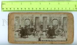 410107 KOREA SEOUL Gate Transport Vintage STEREO PHOTO - Stereoscopic