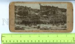 410108 KOREA SEOUL Caravane Yard Vintage STEREO PHOTO - Stereoscopic