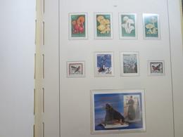 Faroe Islands 1997 ,  Facit 311 - 318 + Block 9   (Complete Sets) (Box 1 - 34) - Féroé (Iles)