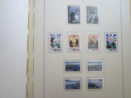 Faroe Islands 2000 ,  Facit 368 - 373 + 381 - 384  (Complete Sets) (Box 1 - 40) - Féroé (Iles)