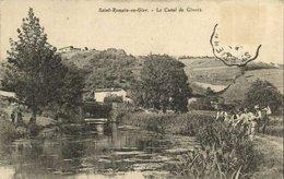 CPA Saint-Romain-en-Gier - Le Canal De Givors (111304) - France