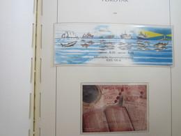 Faroe Islands 2002 ,  Block 13 & 14 MNH  (Complete Sets) (Box 1 - 45) - Féroé (Iles)