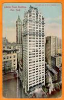 NEW YORK CITY  -  LIBERTY TOWER BUILDING  -  1913 - Wall Street
