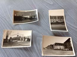 Caserne Liege 4photos Originale Militaire Militaria - Cartes Postales