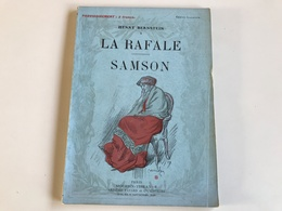 Henry BERNSTEIN La Rafale / Samson - Zeitungen