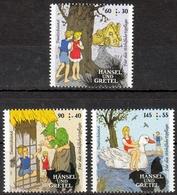 Bund MiNr. 3056/58 ** Wohlfahrt: Grimms Märchen, Hänsel Und Gretel - [7] Repubblica Federale