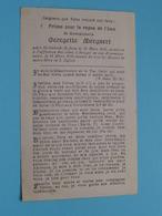 DP Georgette MERGAERT () Molenbeek-St. Jean 11 Mars 1910 - Bruges 11 Mars 1934 > 24e Anniversaire ( Zie / Voir Photo ) ! - Overlijden