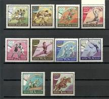 RUSSIA. URSS. USSR. 1960. Olympic Games, Rome, Italy. Full Set. MNH OG. - Estate 1960: Roma