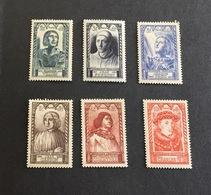 France 1946 Célébrités 765-770 Neufs* - France