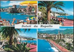 SALUTI DA RAPALLO - VIAGGIATA 1965 - Saluti Da.../ Gruss Aus...