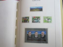 Faroe Islands 2007 ,  Facit 609 - 611 + 617 + Block 33  MNH  (Complete Sets) (Box 1 - 52) - Féroé (Iles)