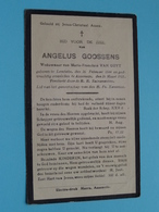DP Angelus GOOSSENS ( Maria Van GUYT ) Lembeke 26 Feb 1844 - Assenede 26 Maart 1933 ( Zie / Voir Photo ) ! - Obituary Notices