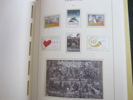 Faroe Islands 2008 ,  Facit 626 - 629 + 644 - 645 + Block 35  MNH  (Complete Sets) (Box 1 - 53) - Féroé (Iles)