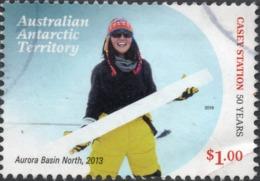 2019 AAT AUSTRALIA DRILLING VERY FINE POSTALLY USED $1 STAMP - Australian Antarctic Territory (AAT)