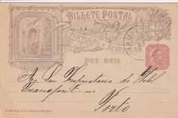 Portugal Entier Postal Illustré 1898 - Postwaardestukken