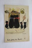 Chats Les Joies Du Foyer Illustrateur L AVELAIR - Katzen