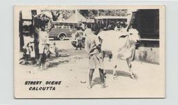 INDE STREET SCENE CALCUTTA - Inde