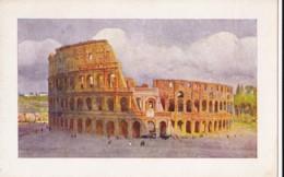 AO12 Roma, Colosseo - Art Postcard - Colosseum