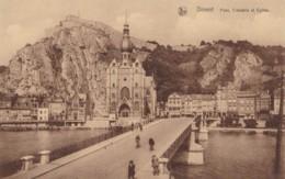 AO12 Dinant, Pont, Citadelle Et Eglise - Dinant