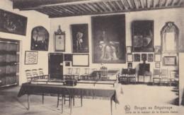 AO12 Bruges Au Beguinage, Salle De La Maison De La Grande Dame - Brugge