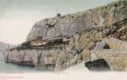 AO12 Gibraltar, Europa Point - Undivided Back, Local Publisher - Gibraltar
