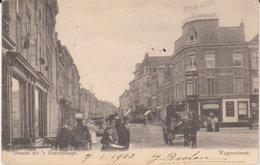 """1903 De Haag / Gravenhage / La Haye """" Wagenstraat """" - Den Haag ('s-Gravenhage)"""