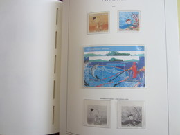 Faroe Islands 2010 ,  Facit 696 - 697 + Block 42 MNH  (Complete Sets) (Box 1 - 60) - Féroé (Iles)