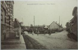 HALLENCOURT Rue Pasteur - Frankreich