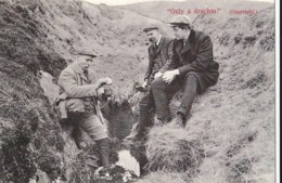 AQ55 Ireland, Social History - Only A Drachm - Reproduction Postcard - Other