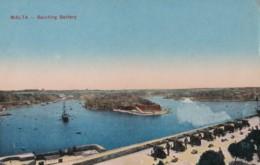AQ55 Malta, Saluting Battery - Malta