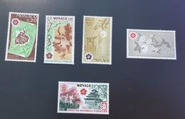 Monaco 1970 Expo Osaka 822-826 Neufs** - Nuevos