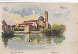 AQ57 Padova, Chiesa Del Carmini - Art Postcard, Undivided Back - Padova (Padua)