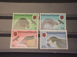 FALKLAND - 1980 RAPACI 4  VALORI - NUOVI(++) - Falkland