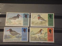 FALKLAND - 1995 UCCELLI 4  VALORI - NUOVI(++) - Falkland