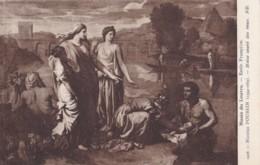 AS80 Art Postcard - Moise Sauve Des Eaux By Nicolas Poussin - Paintings