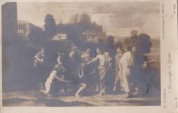 AS80 Art Postcard - Les Aveugles De Jericho By N. Poussin - Paintings