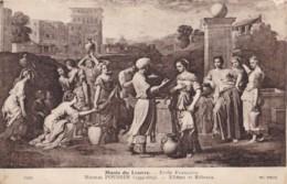 AS80 Art Postcard - Elezer Et Rebecca By NicolasPoussin - Paintings