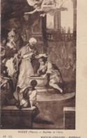 AS80 Art Postcard - Bapteme De Clovis By Pierre Puget - Paintings